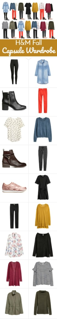 H&M Fall Capsule Wardrobe - Everything you need to put together a comfortable and polished Fall Wardrobe!