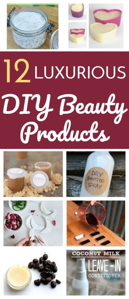 12 Luxurious DIY Beauty Products to Try