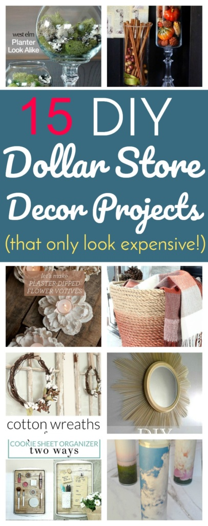 15 DIY Dollar Store Decor Projects That Only Look Expensive!