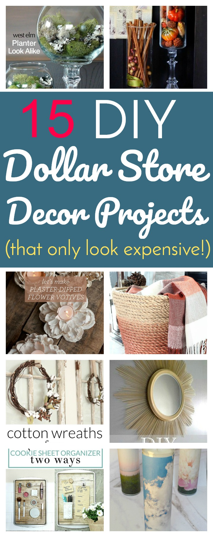 Diy Wall Art That Looks Expensive : Diy dollar store decor projects that only look