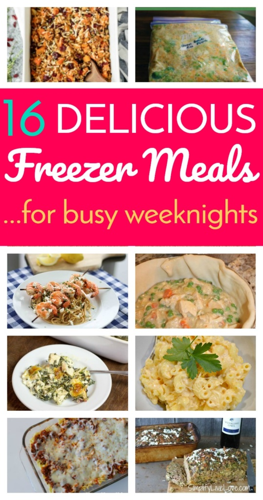 16 Delicious Freezer Meals for Busy Weeknights