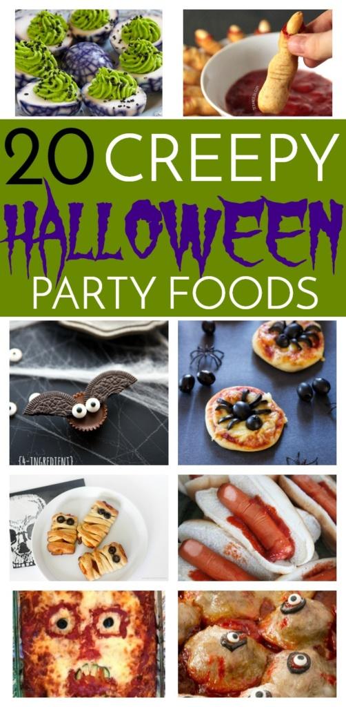 20 Creepy Halloween Party Foods