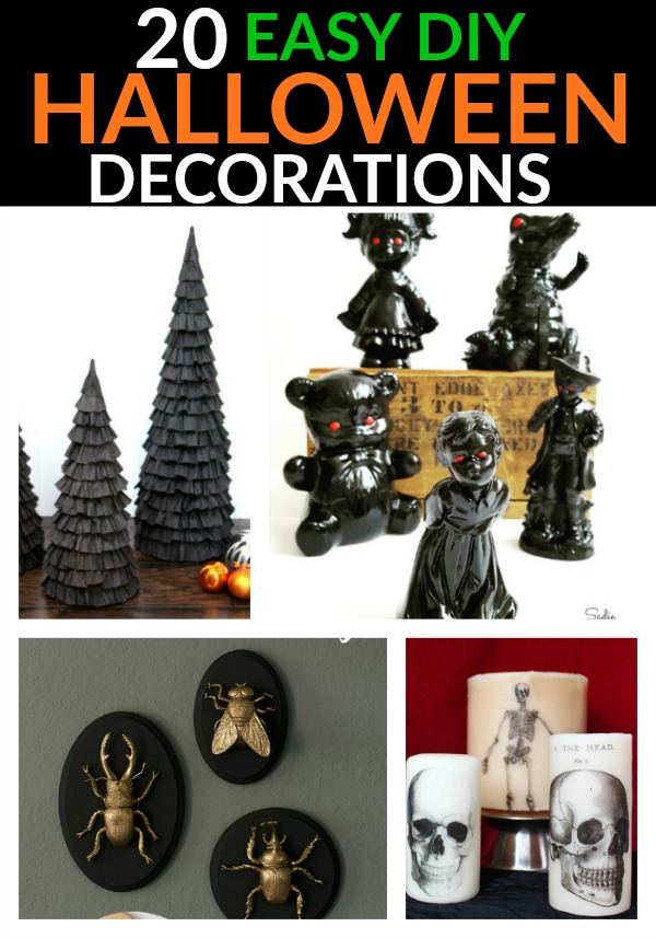 Try some of these amazing and easy DIY Halloween Decorations!