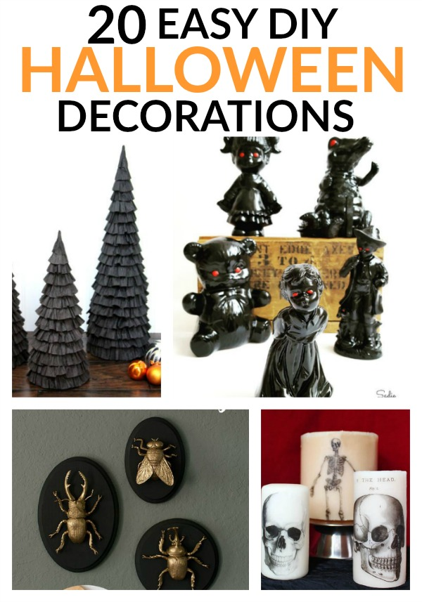 Have an awesome Halloween with Easy DIY Halloween Decorations
