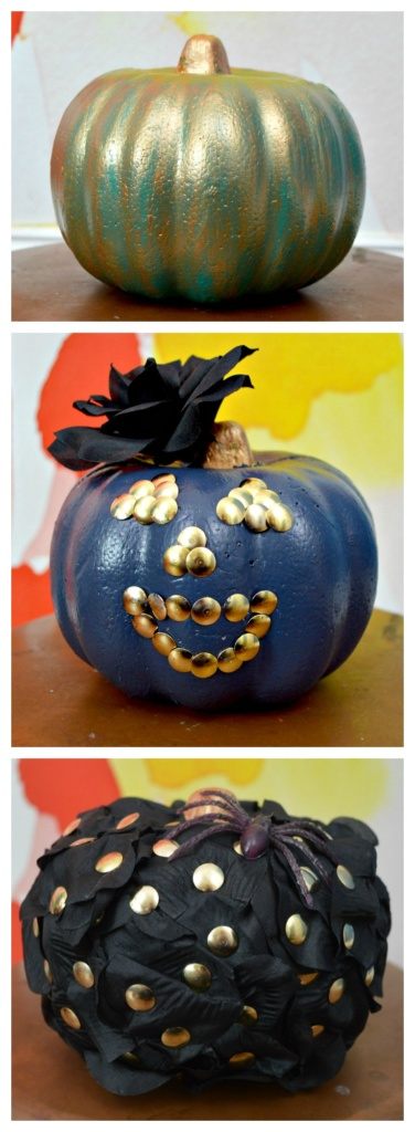 3 Dollar Store Pumpkin Makeovers