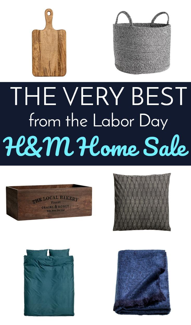 H M Labor Day Home Sale