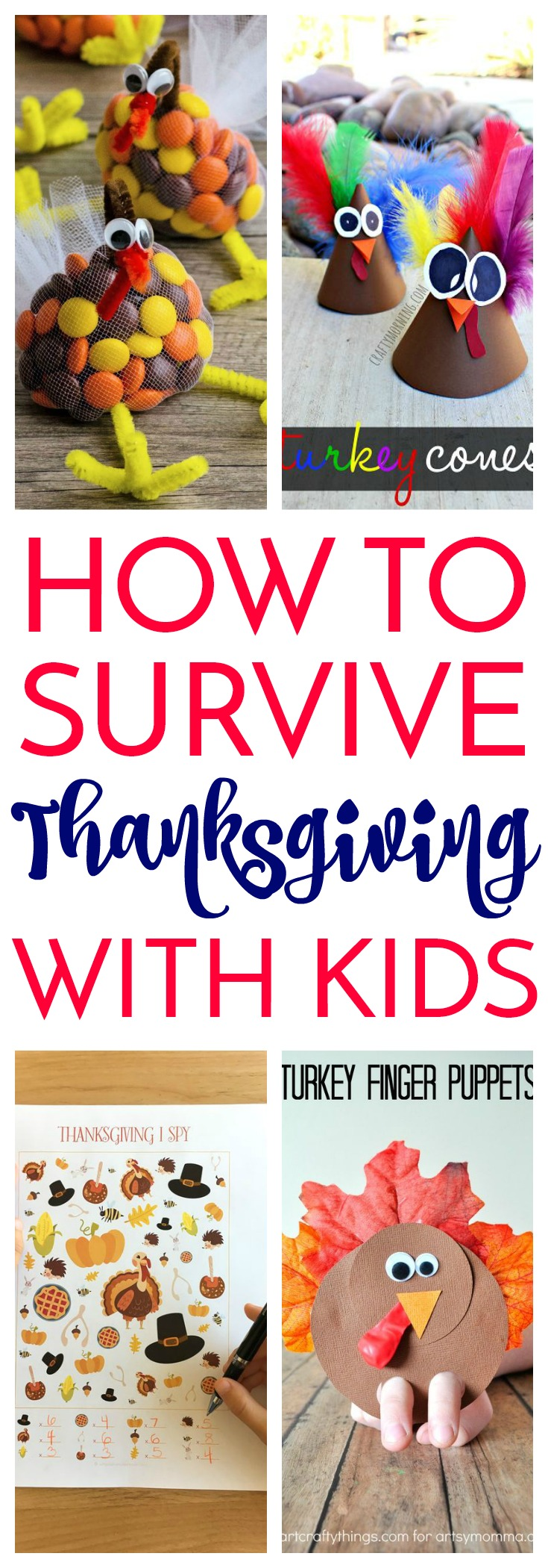 10  Craft Activities to Keep Kids Happy on Thanksgiving