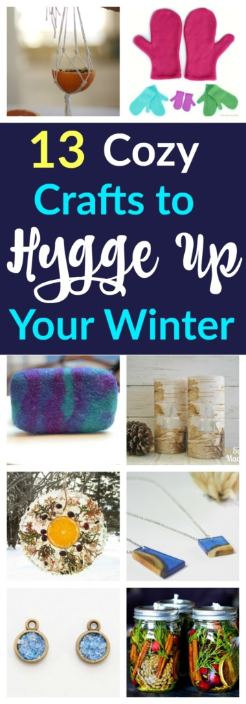 13 Cozy Crafts for Very Hygge Winter
