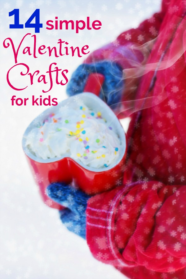 OMG did you forget to get Valentine's? I got you covered with 13 simple Valentine's Crafts that your kids will love!