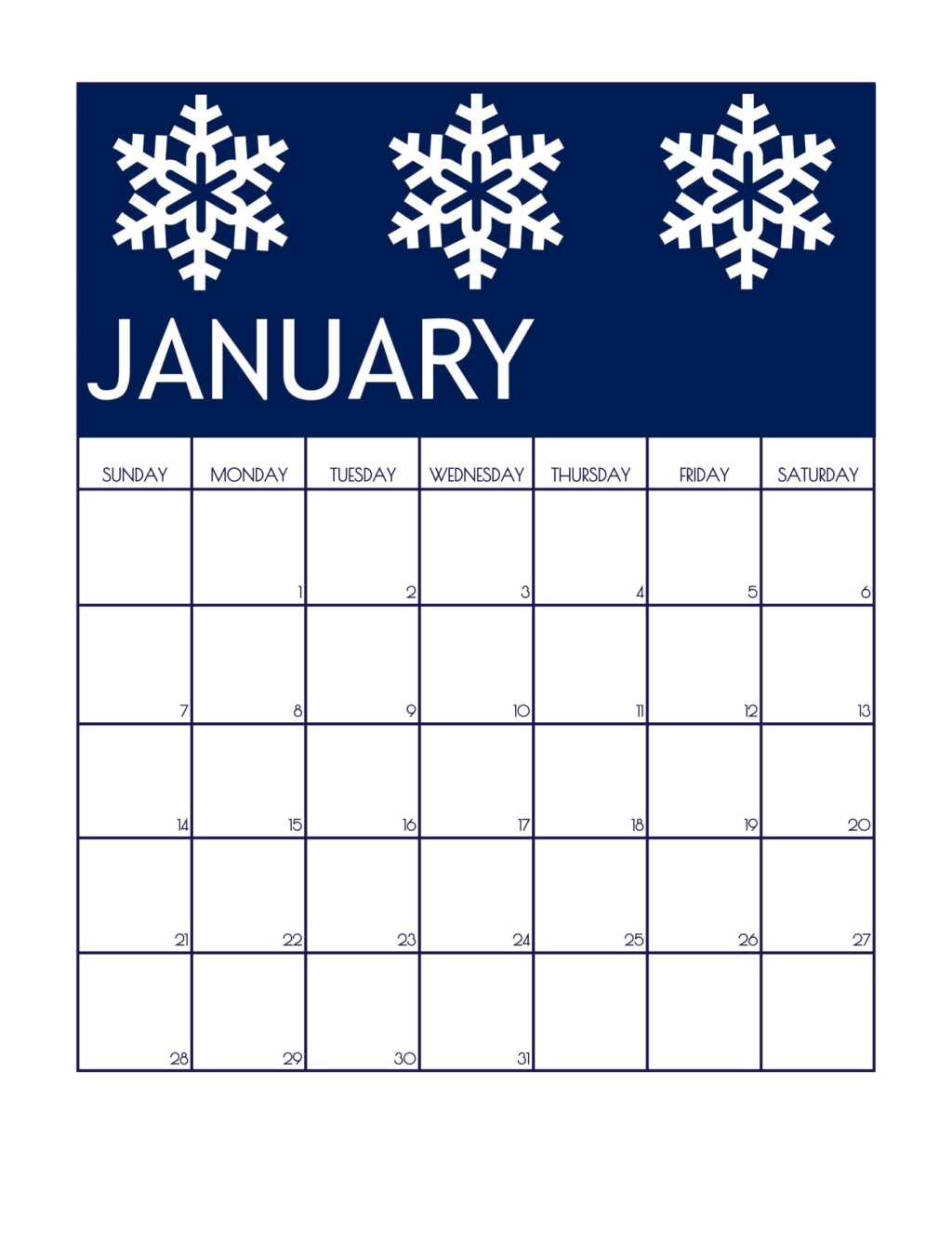 i went with simple snowflakes for january i love this navy color it reminds me of night time after it has snowed january is the time for new beginnings