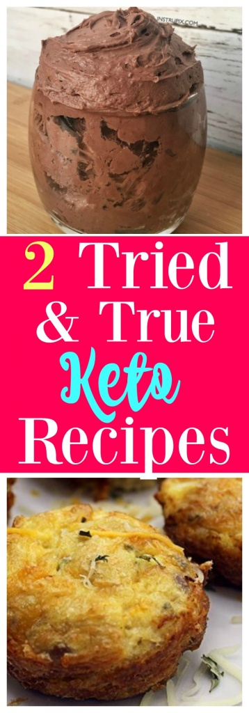 2 Tried & True Keto Recipes