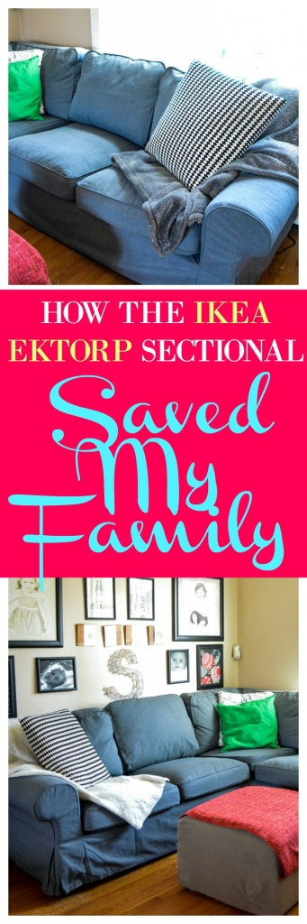 How the Ikea Ektorp Sectional Saved My Family