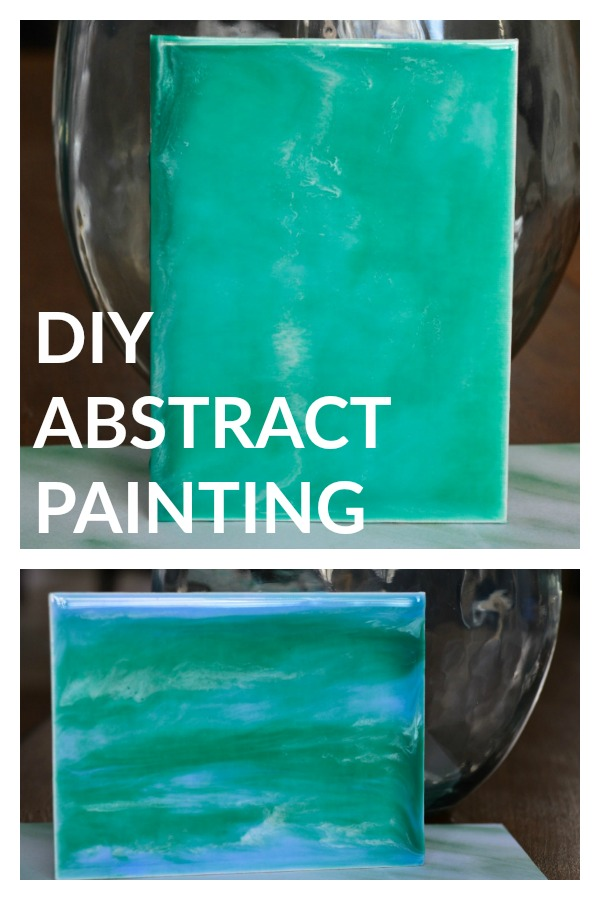 So Simple Craft - DIY Abstract Painting