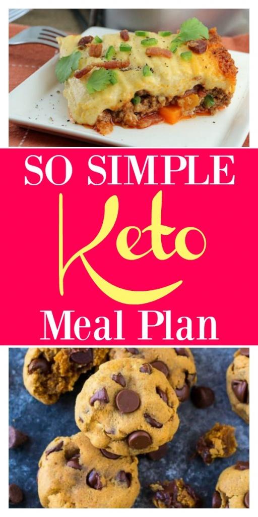 Simple Keto Meal Plan