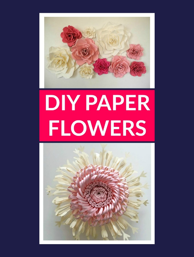 Stunning DIY Paper Flowers for When It's Snowing in April