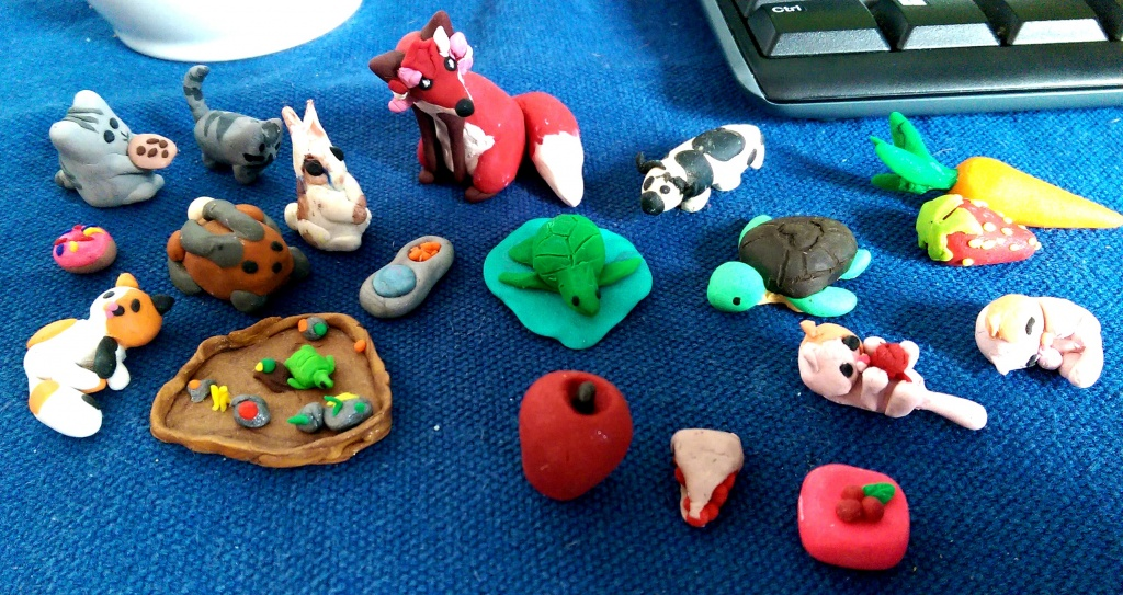 Cute Things To Make Out Of Clay Easy