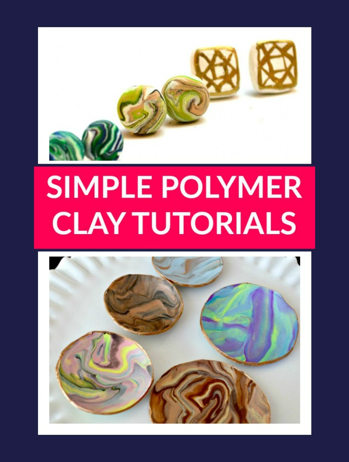 Simple Polymer Clay Tutorials You Should Totally Try!