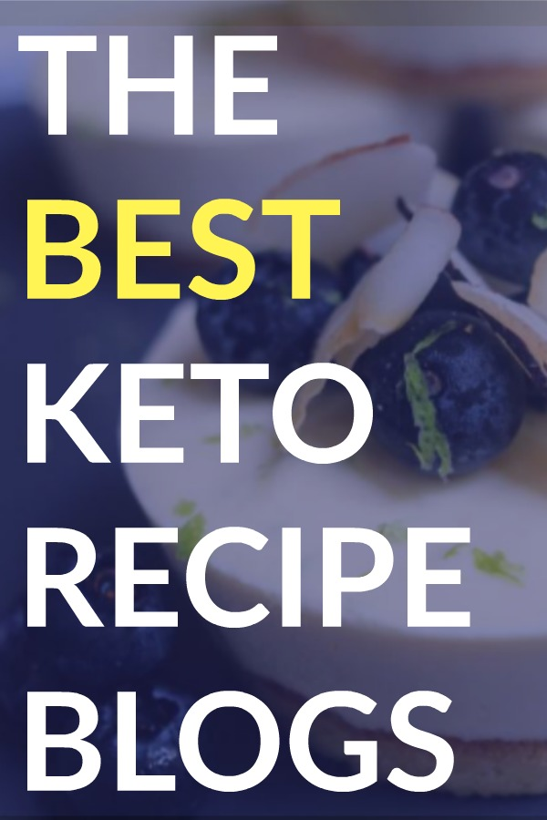 My Very Favorite Keto Recipe Blogs