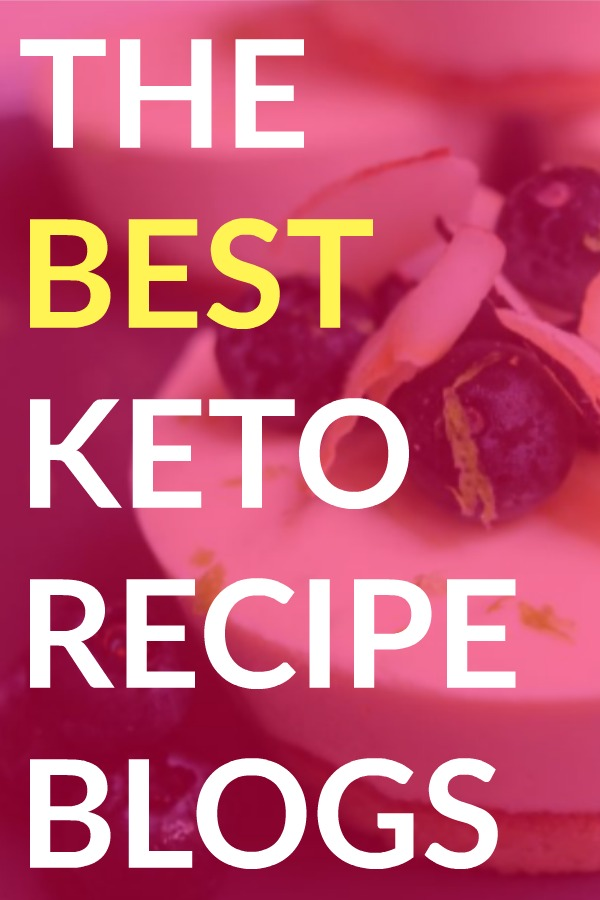 The Best Keto Recipe Blogs