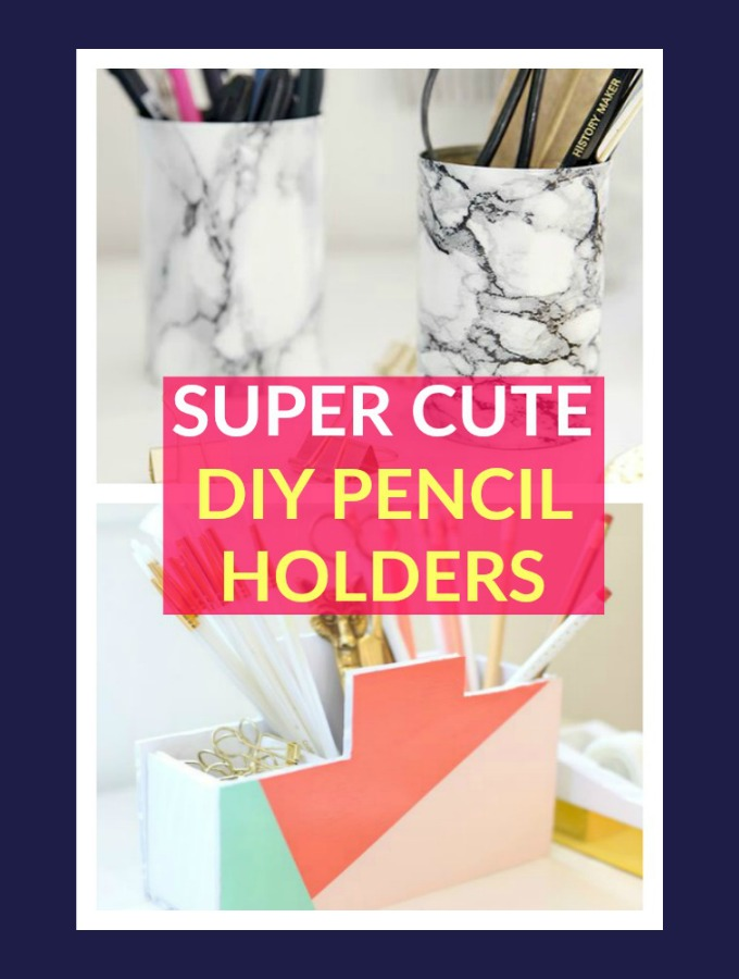 DIY Pencil Holders for My Home Office
