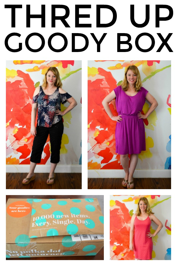 Thred Up Goody Box Review - If you count clothes shopping as part of your self care routine, you should totally check out a Thred Up Goody Box