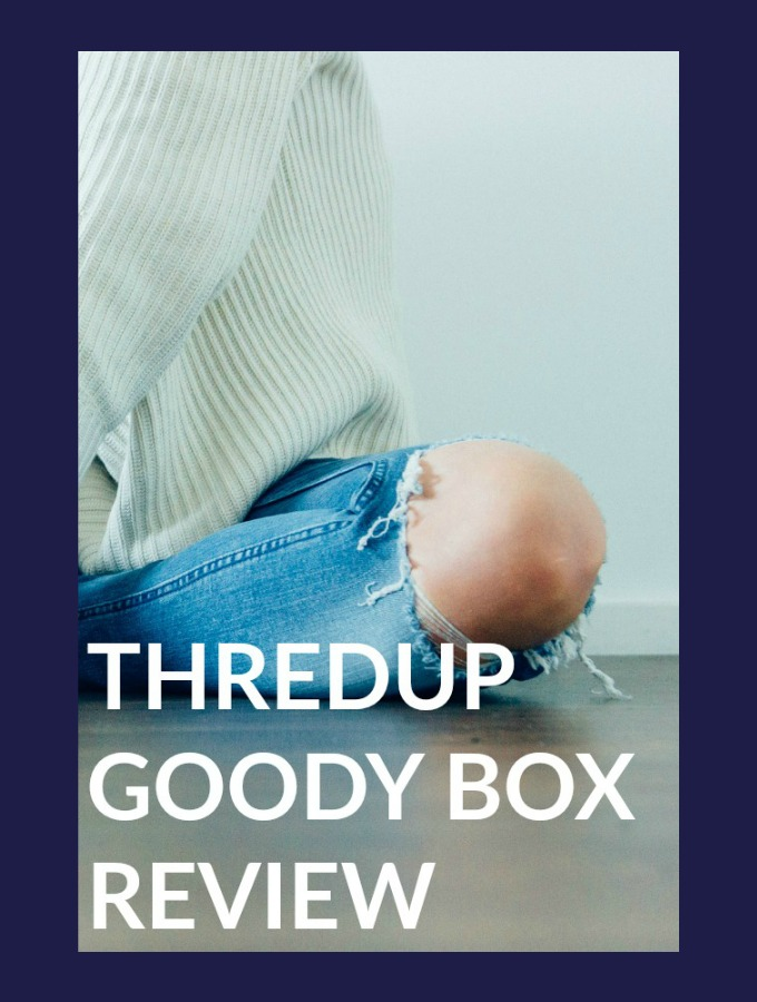 Thredup Review: I Got a Goody Box