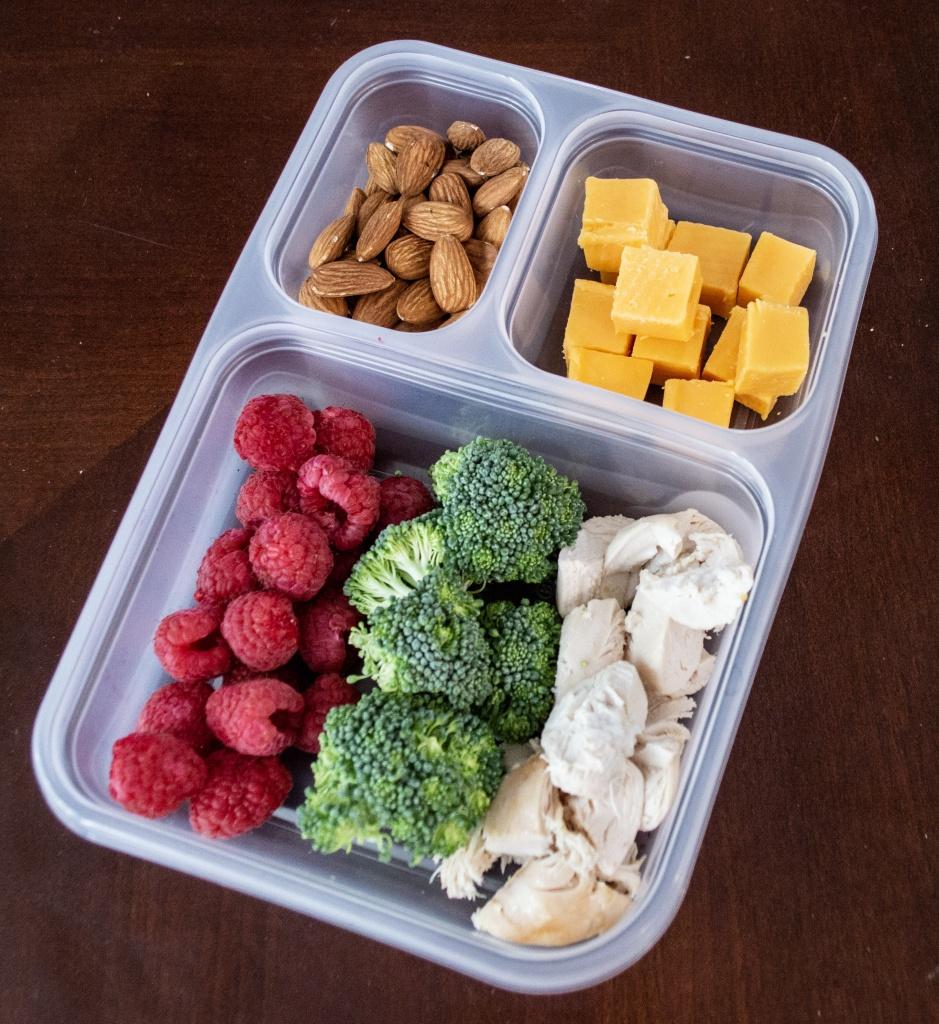 Easy Keto Lunch Idea - Deli Box