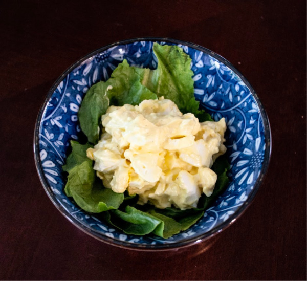 Easy Keto Lunch Idea - Egg Salad