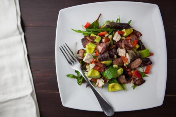 Easy Keto Lunch Idea - Leftover