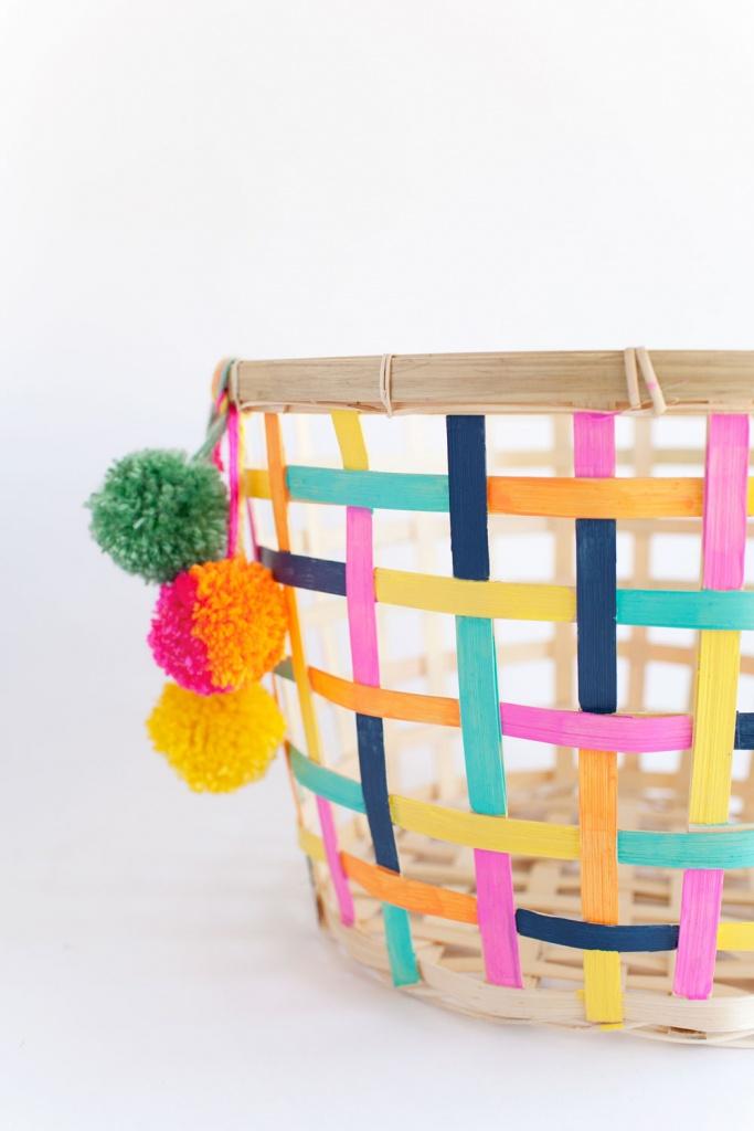 Ikea Hack - Painted Basket