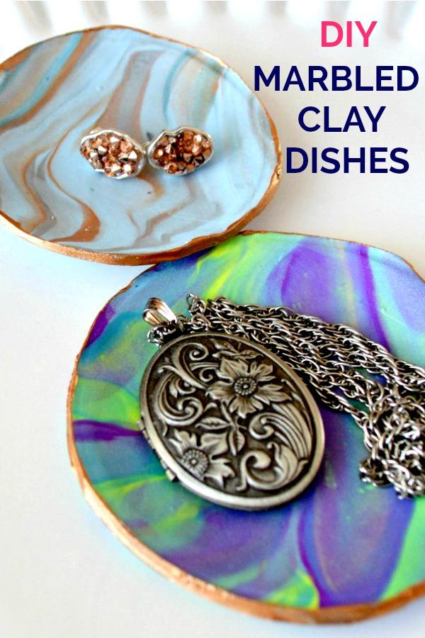 So simple craft: DIY Polymer Clay Trinket Dishes