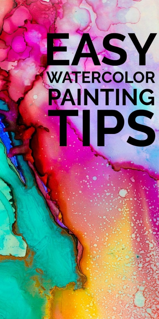 Easy Watercolor Painting Tips