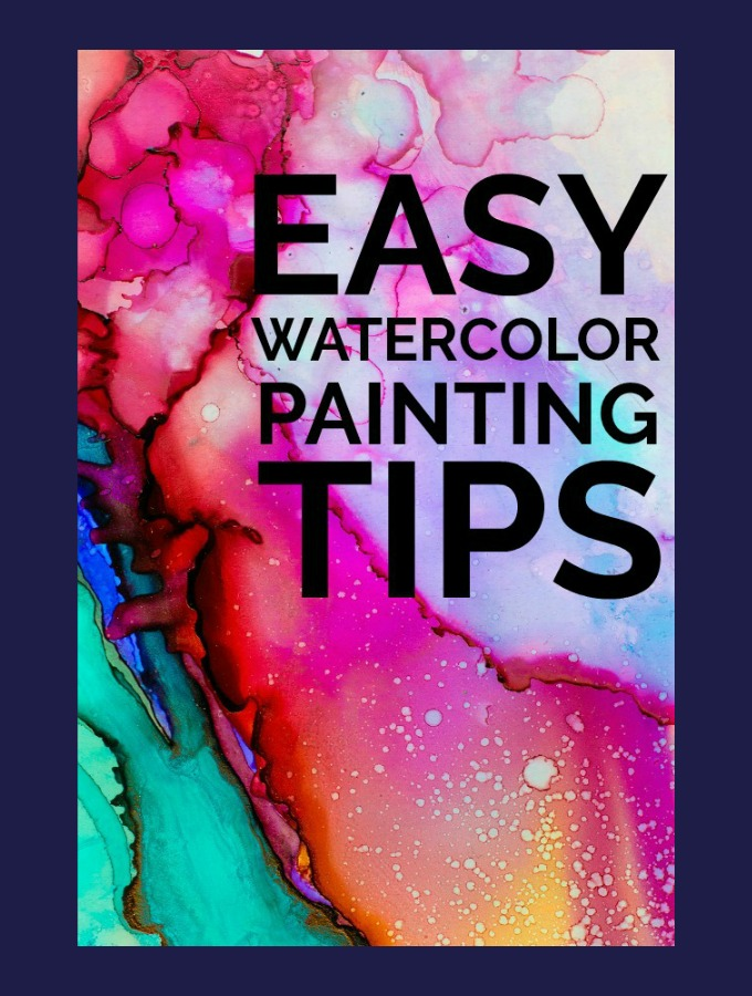 Easy Watercolor Painting Tips For Beginners