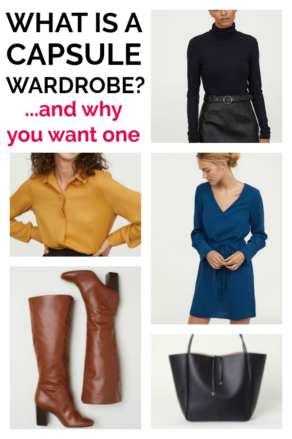 What is a Capsule Wardrobe? A capsule wardrobe is a seasonal grouping of clothing that you can mix and match. A capsule wardrobe makes getting dressed in the morning a breeze AND it makes your life simpler.