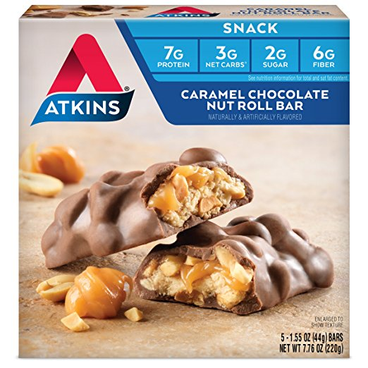Atkins Keto Friendly Sweet Snack Bars for an Easy Dessert!