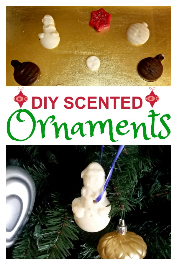 DIY Scented Ornaments