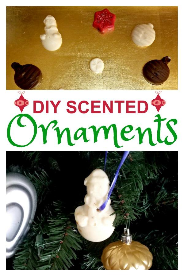 DIY Scented Ornaments