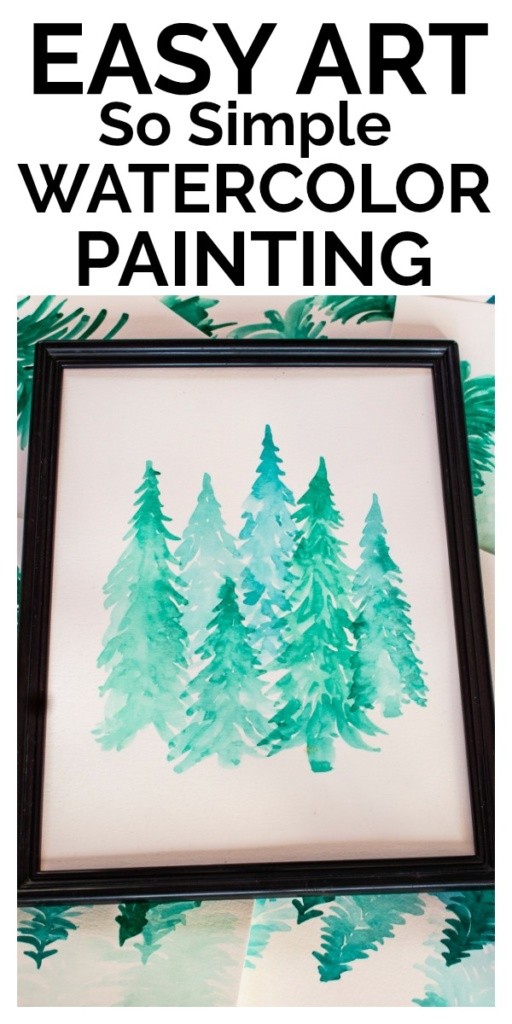 You can be an artist, you just have to try. This simple watercolor painting is really easy and I'll show you all of the mistakes to avoid!