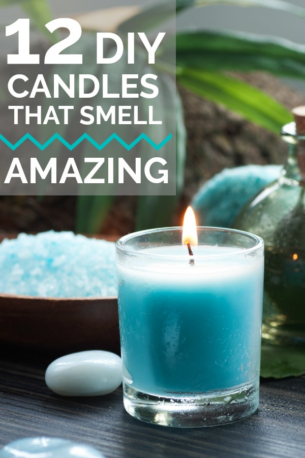 12 DIY Candles that you can make that will smell AMAZING.