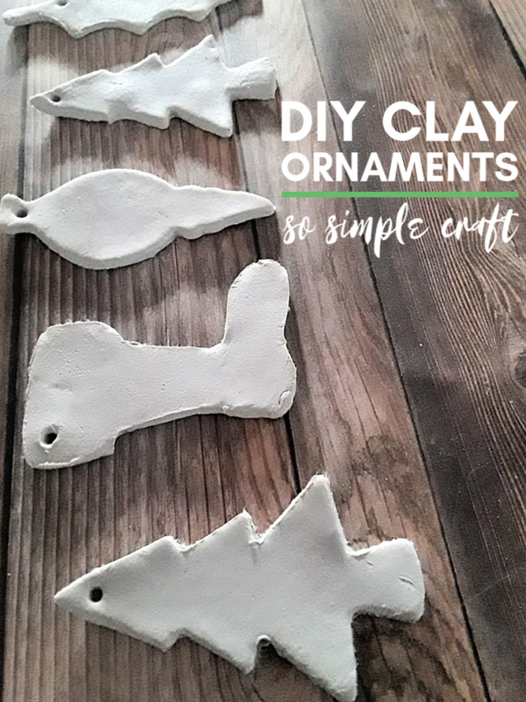 diy clay ornaments - so easy craft